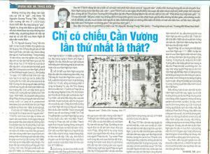 TS. Nguyễn Quang Trung Tiến trả lời phỏng vấn -- báo Thể thao & Văn hoá, 03-6 HB8
